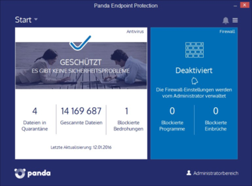 Panda Endpoint Protection Anti Virus Lösung